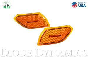 Jeep JL Sidemarkers Amber Set Diode Dynamics