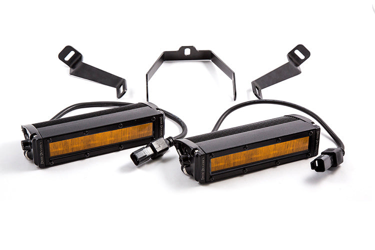 WRX 2015 SS6 LED Kit Amber Wide Diode Dynamics