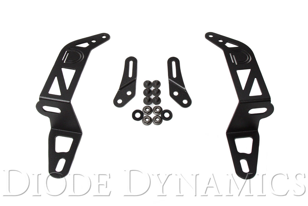 Jeep 2018 SS30 Bumper Bracket Kit Diode Dynamics
