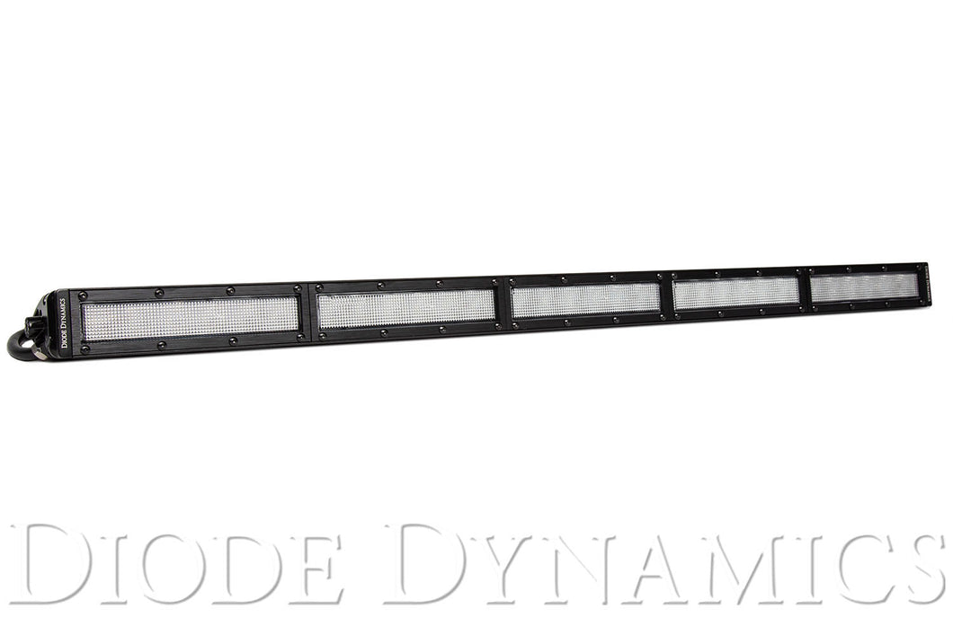 30 Inch LED Light Bar  Single Row Straight Clear Flood Each Stage Series Diode Dynamics