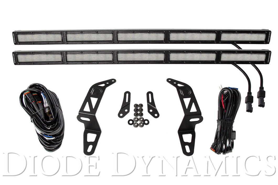Jeep 2018 SS30 Bumper LED Kit White Flood Dual Diode Dynamics