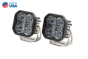 Worklight SS3 Sport White SAE Driving Standard Pair Diode Dynamics