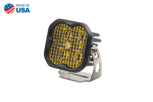 Worklight SS3 Pro Yellow Flood Standard Single Diode Dynamics