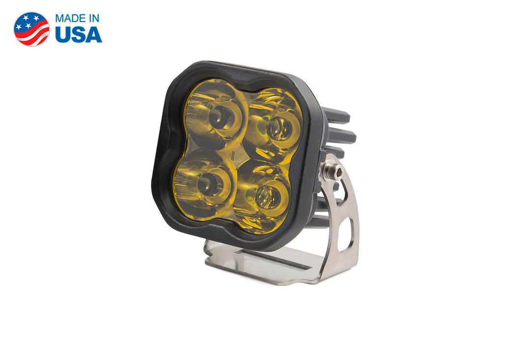 Worklight SS3 Pro Yellow Spot Standard Single Diode Dynamics