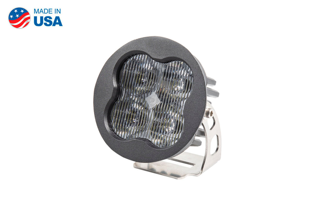 Worklight SS3 Sport White SAE Fog Round Single Diode Dynamics