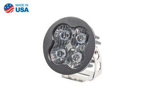Worklight SS3 Pro White SAE Driving Round Single Diode Dynamics