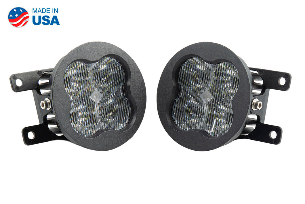 SS3 LED Fog Light Kit for 2012-2014 Acura TL White SAE/DOT Fog Sport Diode Dynamics