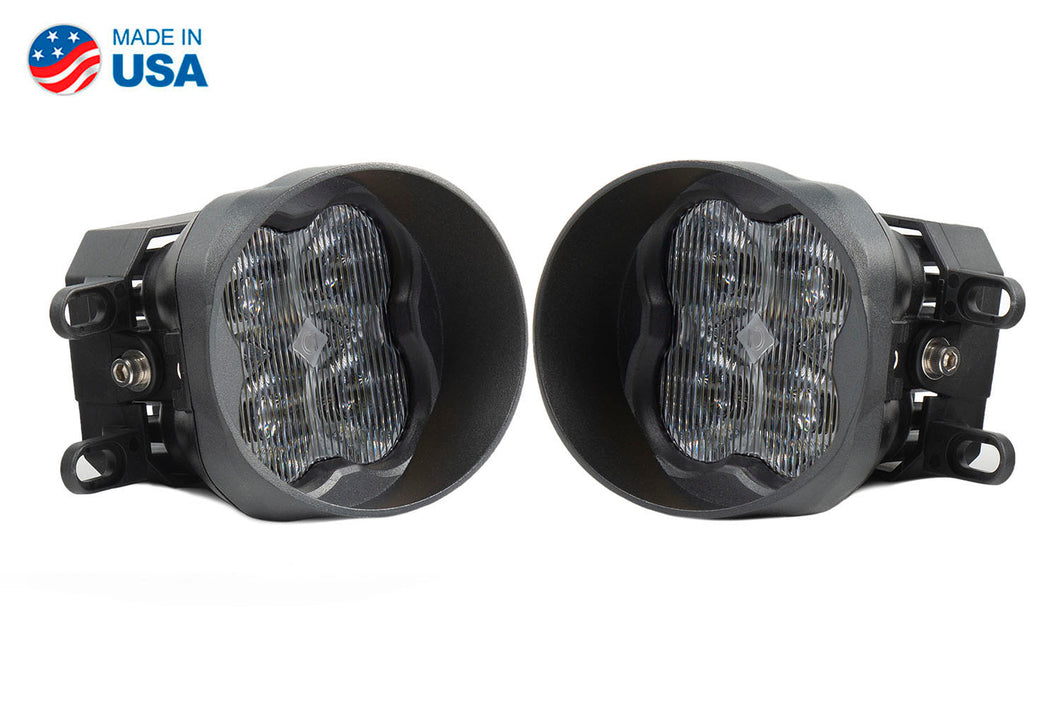 SS3 LED Fog Light Kit for 2016-2019 Toyota Tacoma White SAE/DOT Fog Sport Diode Dynamics