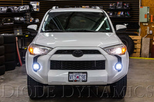 SS3 LED Fog Light Kit for 2010-2019 Toyota 4Runner White SAE/DOT Driving Pro Diode Dynamics