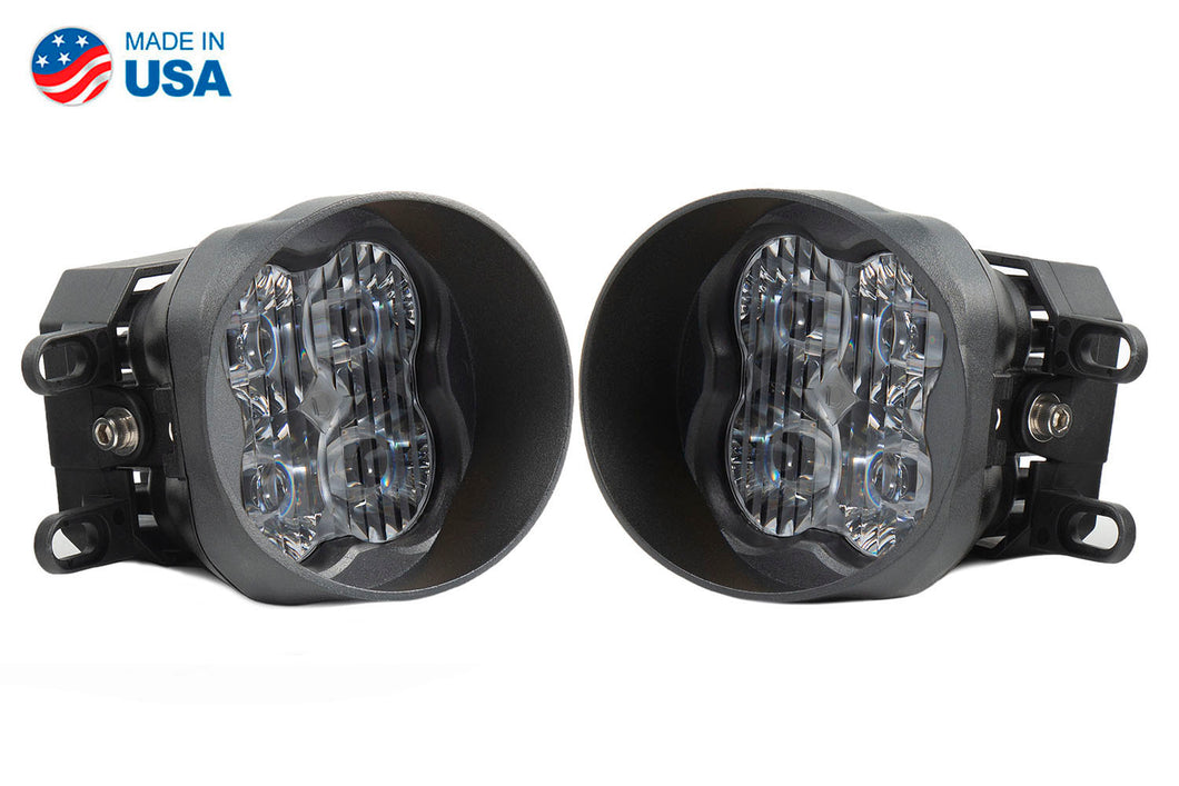 SS3 LED Fog Light Kit for 2012-2016 Toyota Prius V White SAE/DOT Driving Pro Diode Dynamics