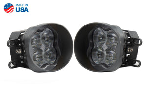 SS3 LED Fog Light Kit for 2009-2013 Toyota Matrix White SAE/DOT Fog Pro Diode Dynamics