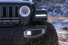 Load image into Gallery viewer, SS3 LED Fog Light Kit for 2020 Jeep Gladiator Overland/Rubicon White SAE/DOT Driving Sport Diode Dynamics