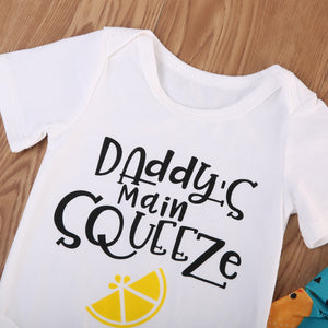 "Conjunto ""Daddy's Main Squeeze"""