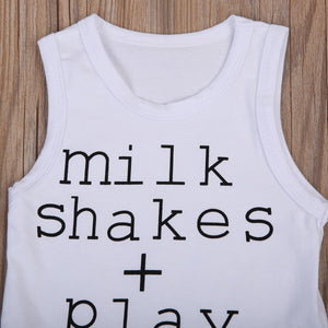 "Camiseta ""Milk Shakes Play Dates"""