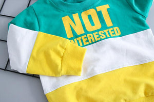 "Conjunto ""Not Interested"""