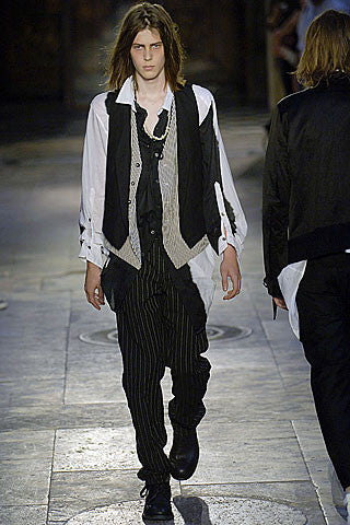 2007 Chalk Stripe Jacquard Trousers