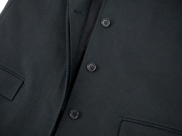 2005 Cotton Canvas Sartorial Chesterfield Coat with Hand-Finished Details