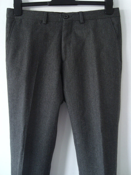 2012 Virgin Wool Kean Tailored Trousers in Anthracite