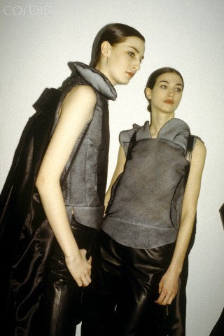 1999 Silk Organza Biker Jacket with Destroyed Padding