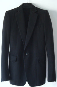 2004 Wool/Cotton Hand-tailored Blazer Jacket with Gussets