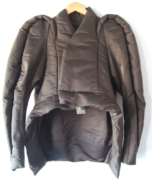 2011 Padded Duchesse Silk Maria Jacket
