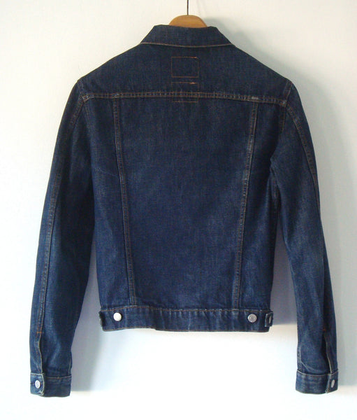1999 Raw Denim Classic 2-Pocket Jacket
