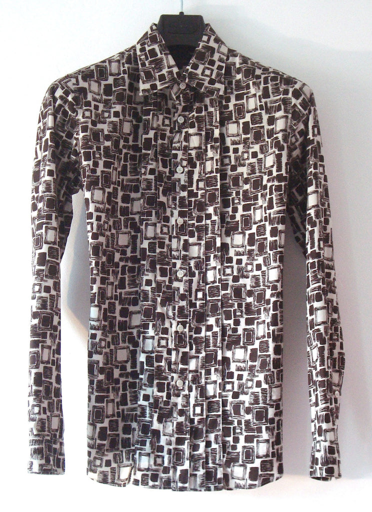 2006 Patterned Silk Evening Shirt