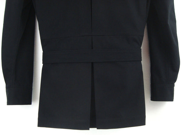 2005 Broad-shouldered Military Jacket with Architectural Pleats