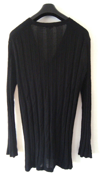 2007 Cashmere/Linen Elongated Sweater