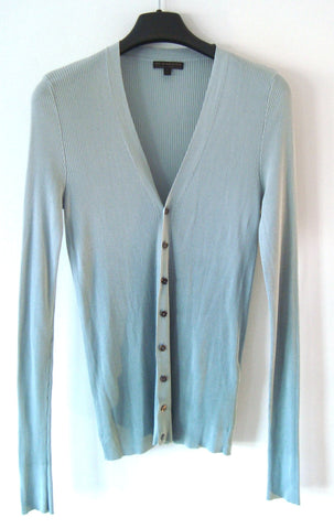 2009 Extrafine Ombre-Dyed Silk Cardigan