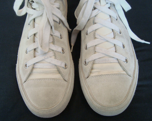2007 Suede Sneakers with Goat Leather panel