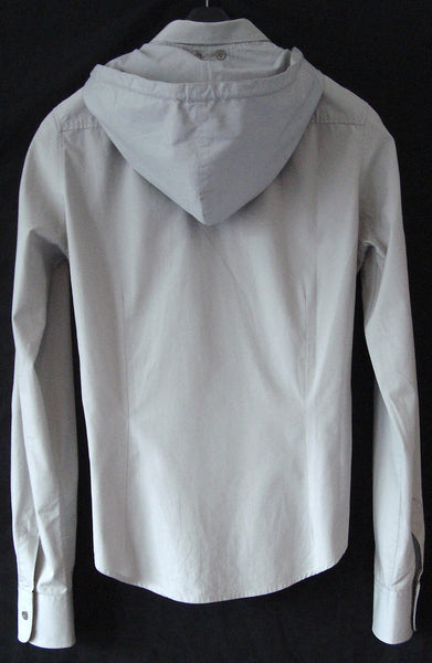 1997 Short Tailored Shirt with Removable Hood