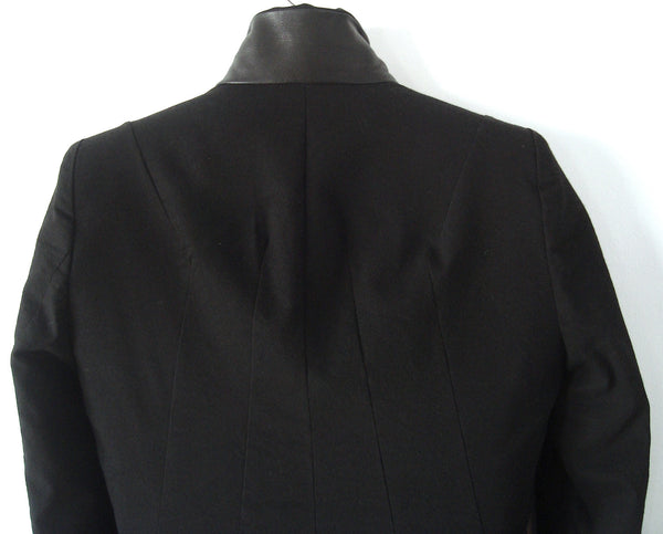 2010 'Adams' Tailored Jacket with Leather trims