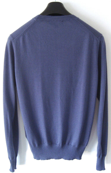 2013 Cashmere/Silk Sweater with Drop-Stitch Detailing