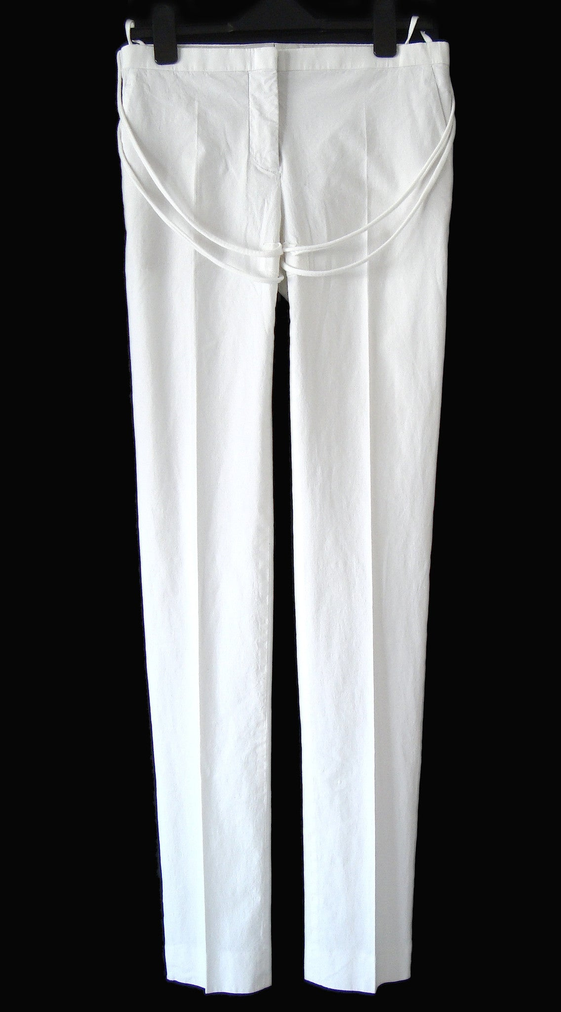 2004 Skinny Tailored Trousers with Jersey Details