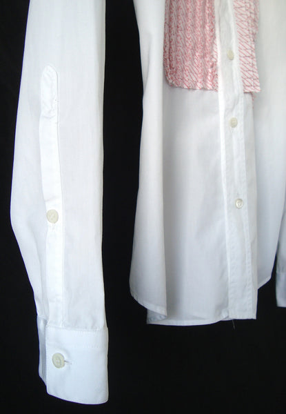 2005 Evening Shirt with Contrasting Plastron