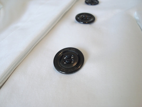 2009 Sateen Cotton Tailored Military Caban