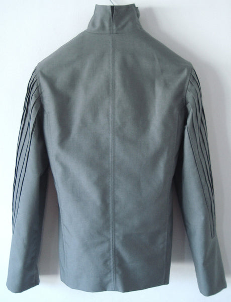 2000 Ballistic Nylon 'Fan Pleat' Biker Jacket