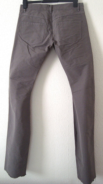 2011 Silk Cotton Detroit Bootcut Jeans with Cargo Pockets