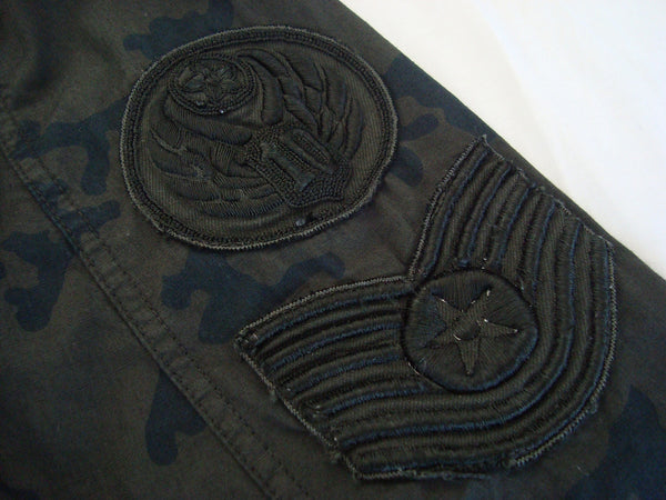 2010 Camo Military Parka with Handmade Embroidery Details