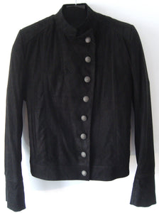 2010 Nubuck Leather Military Jacket