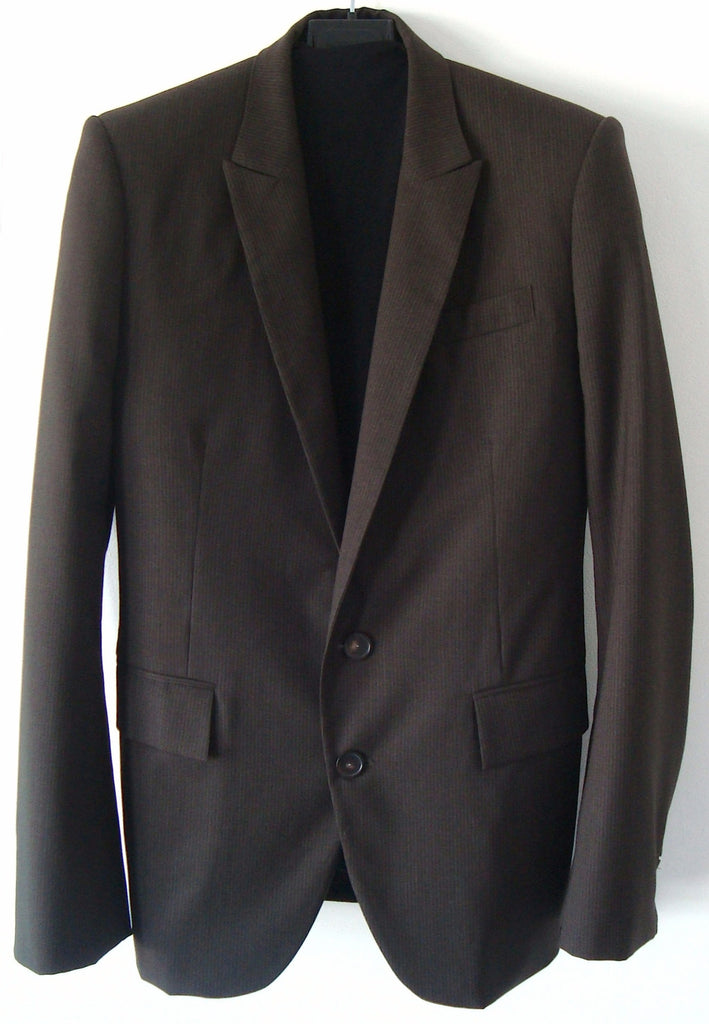 2006 Virgin Wool Slim Blazer Jacket