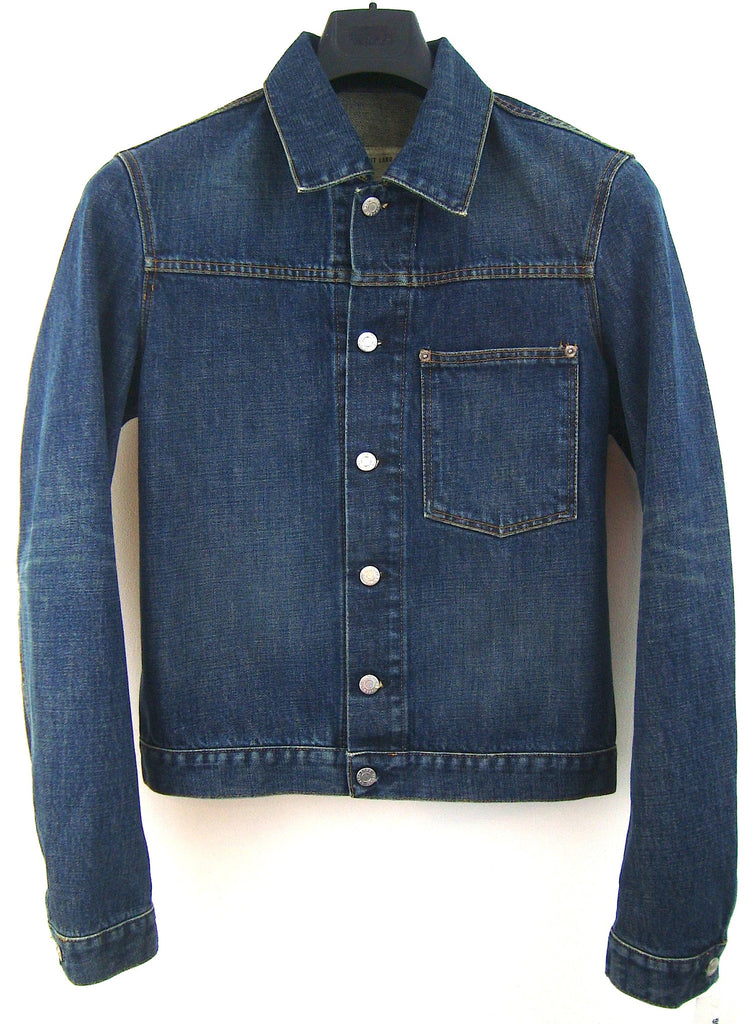 2004 Vintage Denim Slim 1-Pocket Jacket