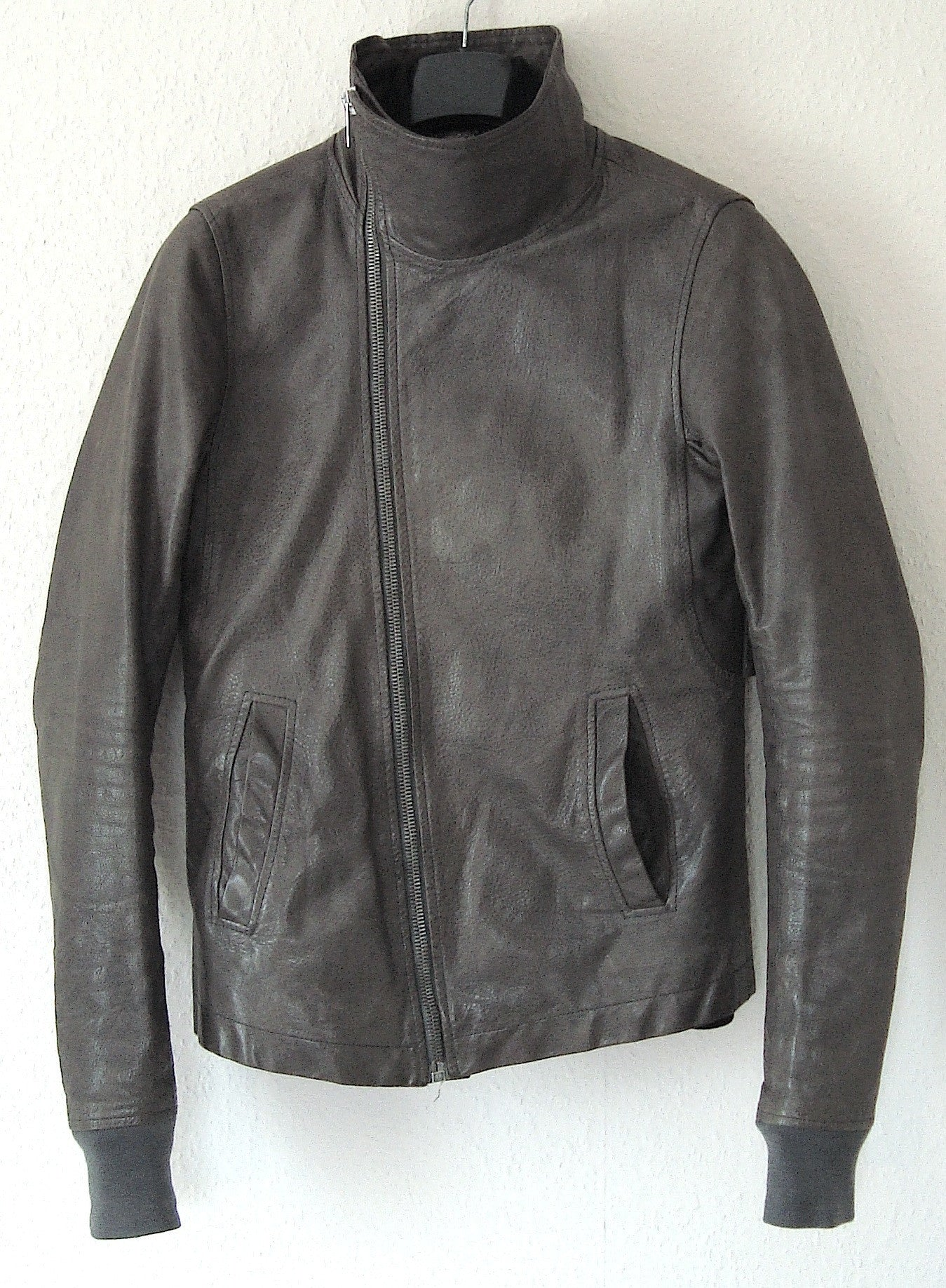 2009 Structured Lamb Leather Bauhaus Jacket