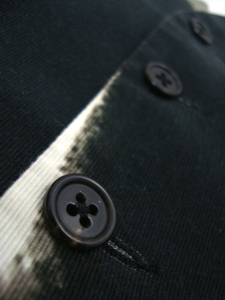 2011 Textured Cotton Waistcoat with Open Door Print