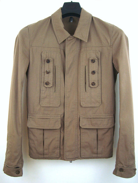 2006 Vintage Twill Military Blouson with Pocket Details