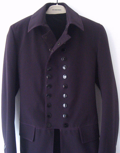 2008 Neoprene Peacoat with Snap Buttons