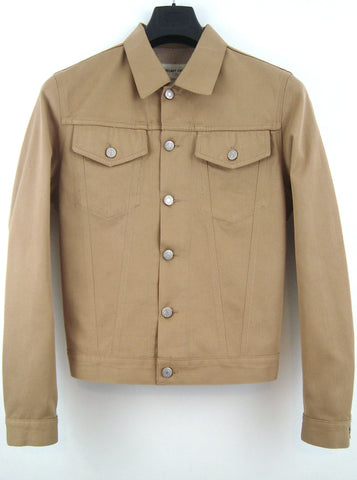 2001 Raw Silk Denim Classic 2-Pocket Jacket