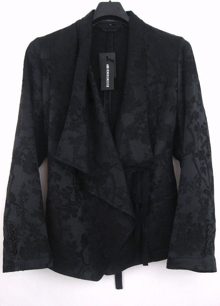 2009 Textured Jacquard 'East' Jacket with Tie Closure