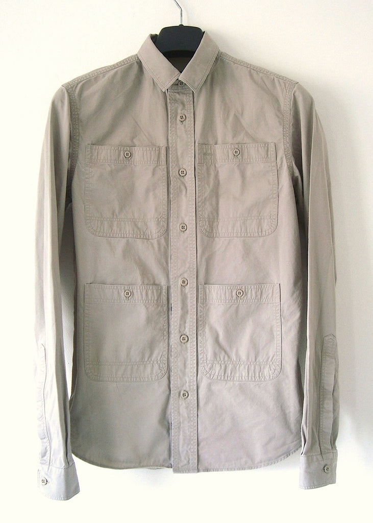 2010 Vintage Twill Multi-Pocket Worker Shirt